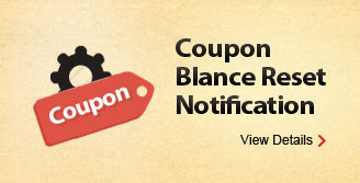 Coupon Blance Reset Notification