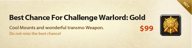 Best Chance For Challenge Conqueror: Gold
